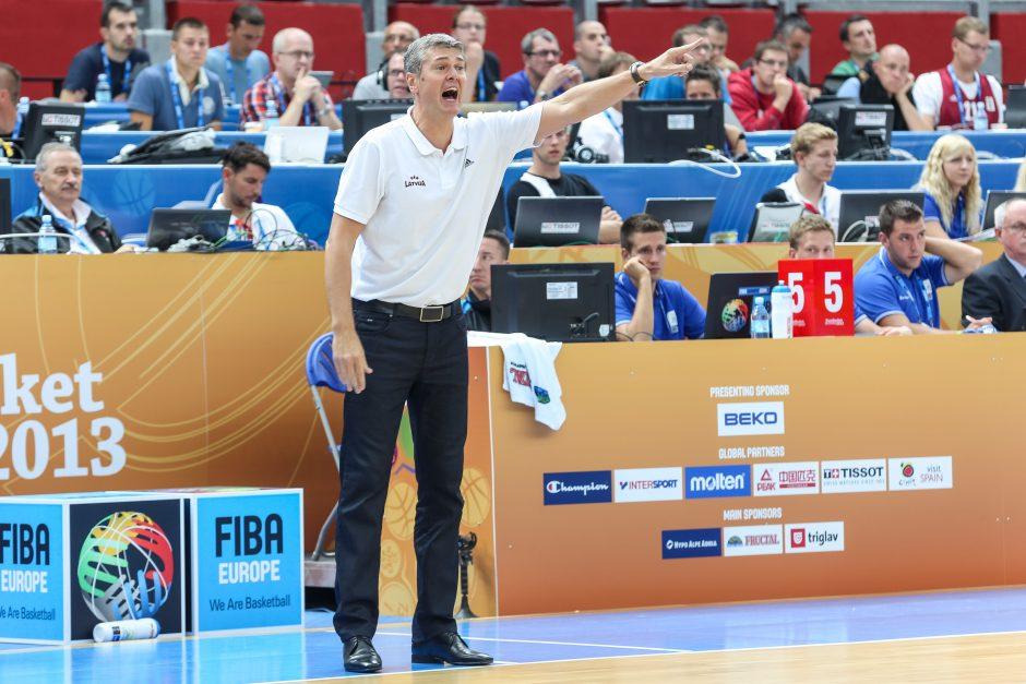 Latviai krepšinio aikštėje nebus mūsų