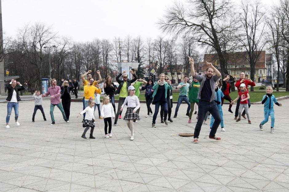 D. Bakėjus suvienijo uostamiesčio šokio aistruolius