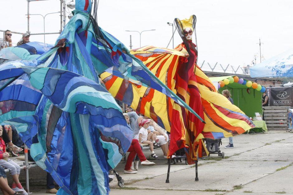 Šventės sūkuryje – ir cirko artistai