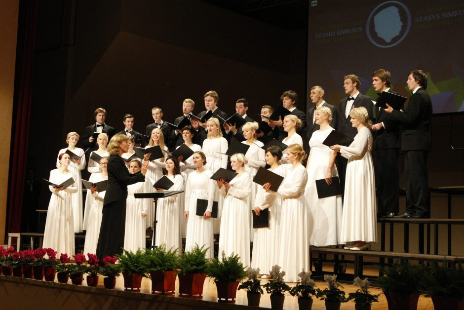S. Šimkaus chorų konkurse Klaipėdoje triumfavo latviai