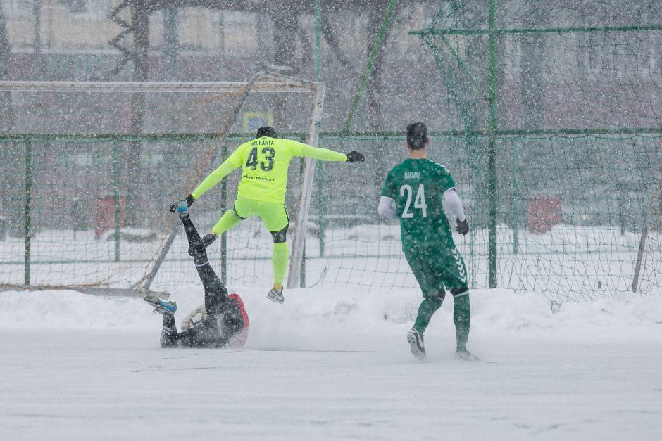 """""""Kauno Žalgiris"""" – """"Trakai"""" 1-4"""