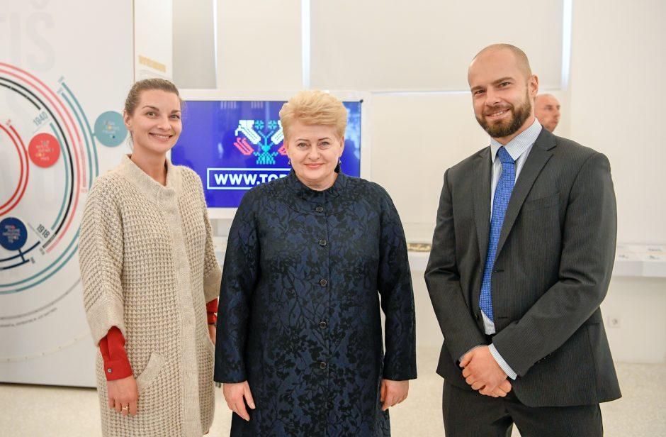 Prezidentė ragina emigrantus rinktis Lietuvą