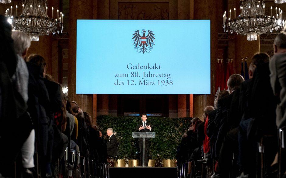 Austrija mini anšliuso 80-ąsias metines
