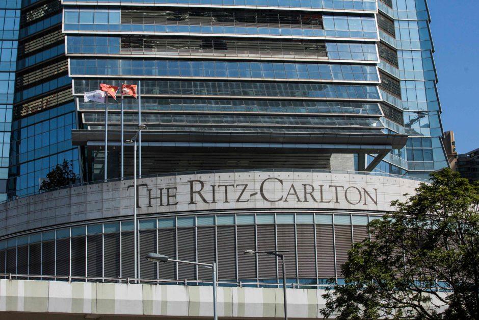 Dviguba žmogžudystė ištaigingame Honkongo viešbutyje