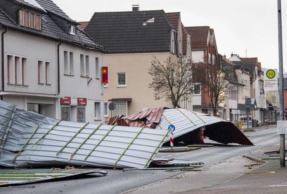 Europą nusiaubusi audra Friedrike