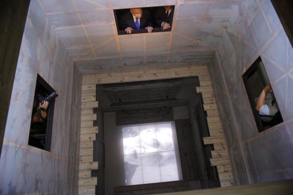 Latvijos ir Izraelio prezidentai dalyvavo muziejaus žydus karo metais gelbėjusiai porai atidaryme