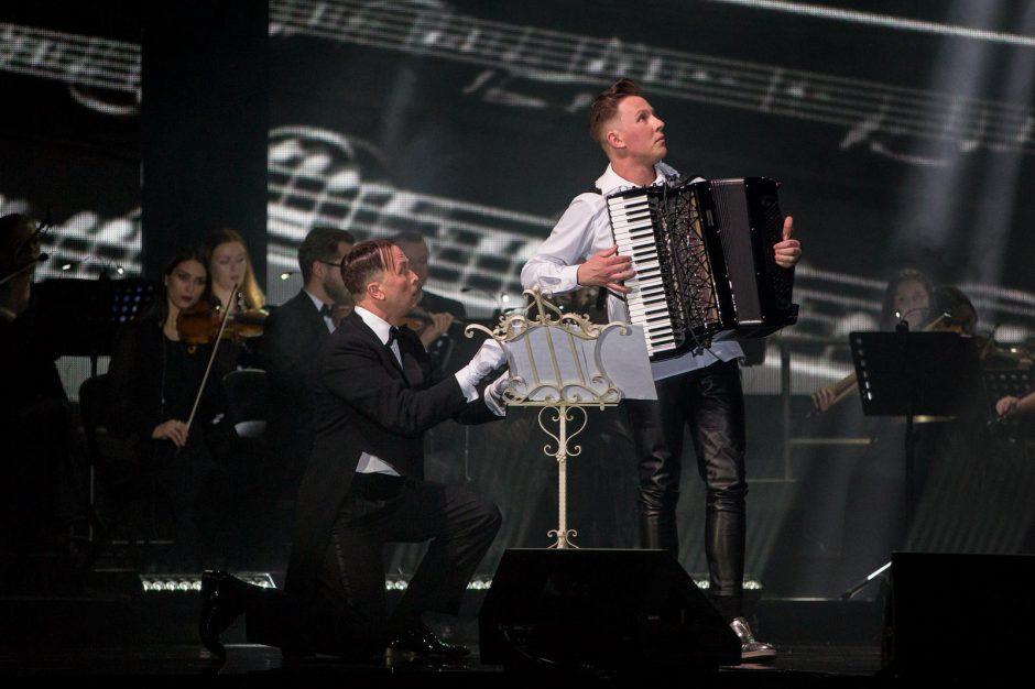 M. Levickis klaipėdiečiams padovanojo įspūdingą muzikos šou