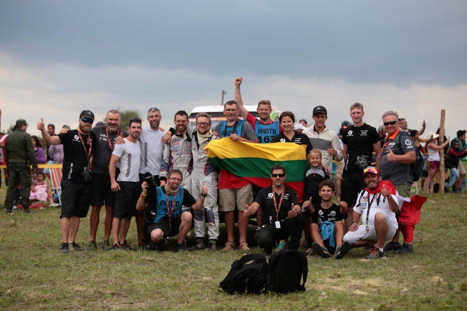 Dakaro finišas – su pagerintu rekordu
