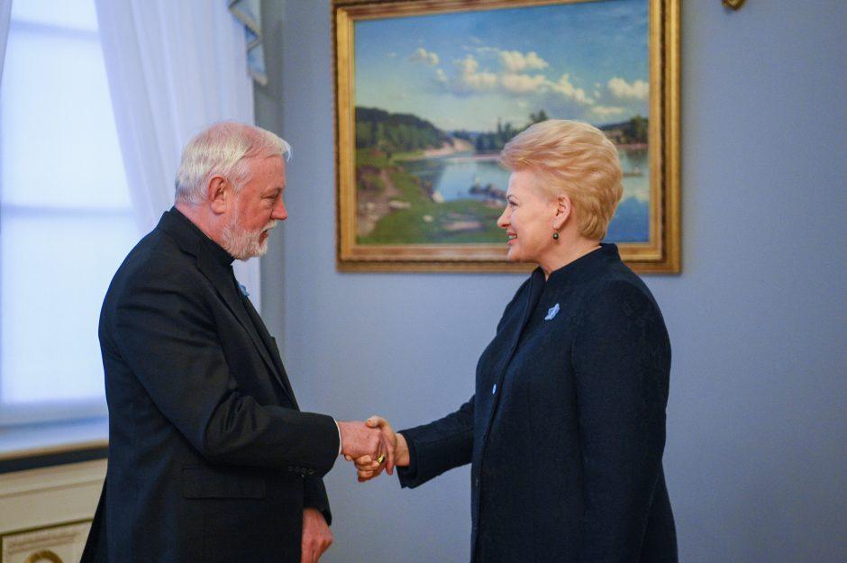 Prezidentė: popiežiaus vizitas – ypatinga šimtmečio dovana Lietuvai