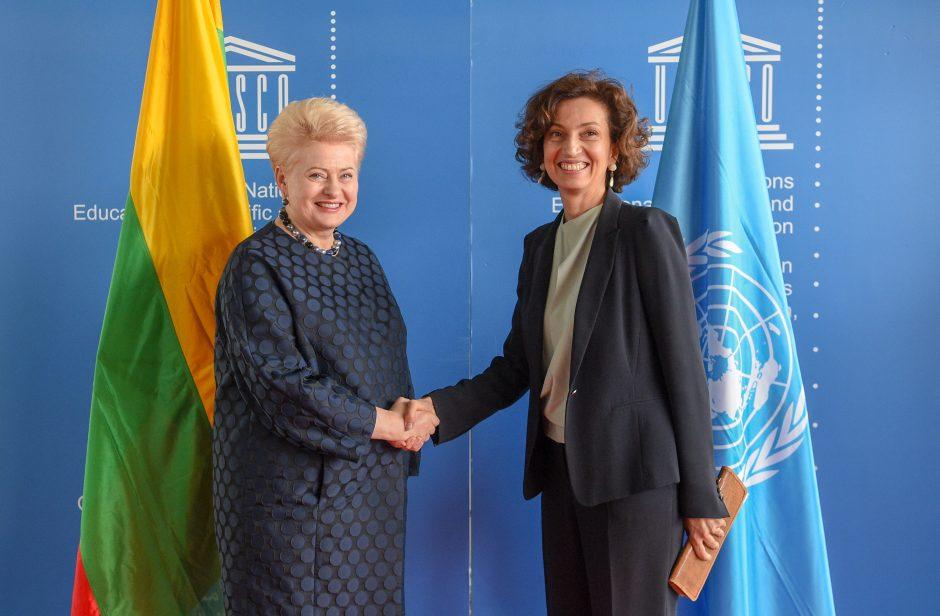 Sieks, kad į UNESCO paveldo sąrašą patektų Kaunas ir Trakai
