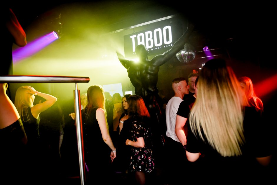 "Audringa penktadienio naktis ""Taboo"" klube"