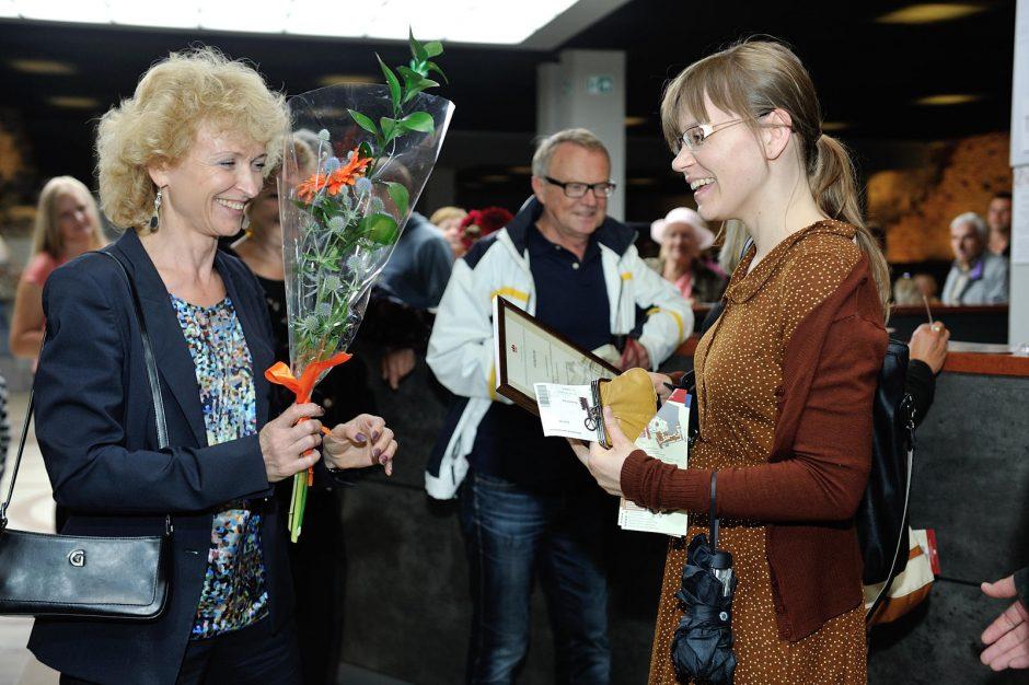 Dešimttūkstantąja Valdovų rūmų lankytoja tapo lietuvių kalbos mokytoja