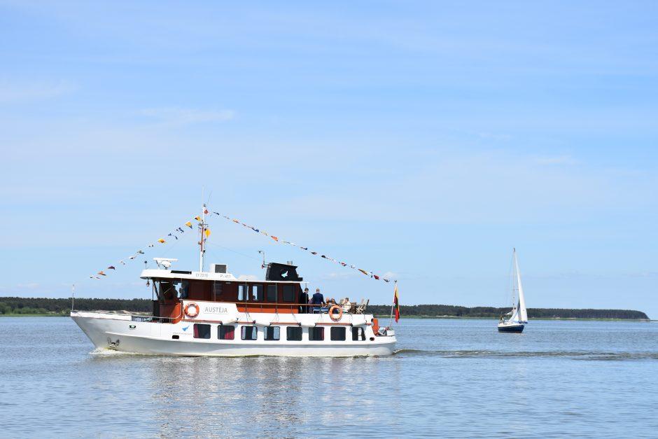Ruošiasi naujam laivybos sezonui