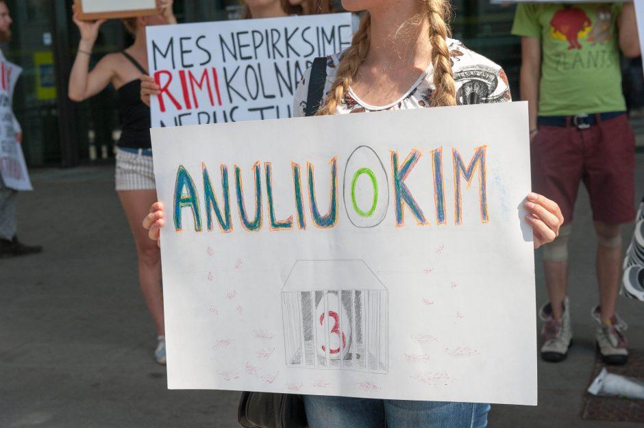 Vištų gynėjų protestas Kaune