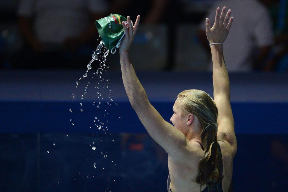 Iš rusės J.Jefimovos pasaulio rekordą atėmusi Rūta: variau, kiek tik galėjau (video)