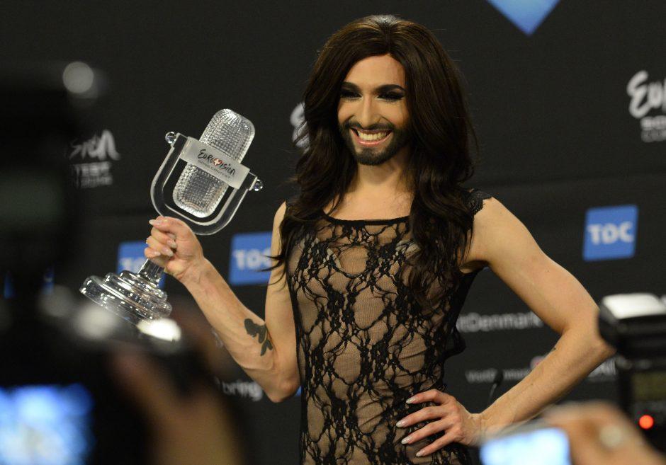 """""""Eurovizijos"""" nugalėtoja Conchita Wurst serga ŽIV"""
