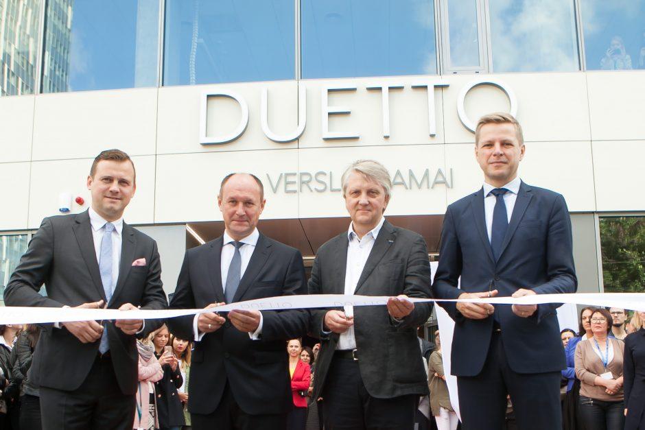 Sostinėje duris atvėrė nauji verslo namai