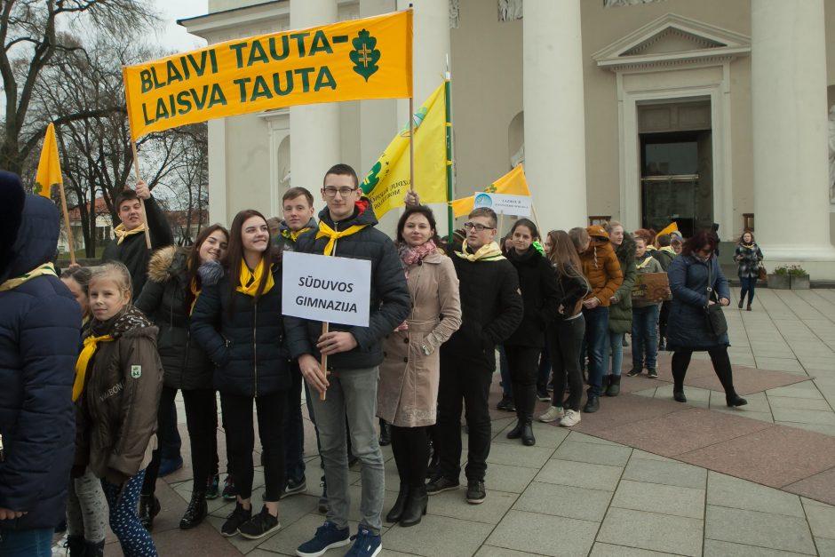 Į sąskrydį susirinko Lietuvos valančiukai