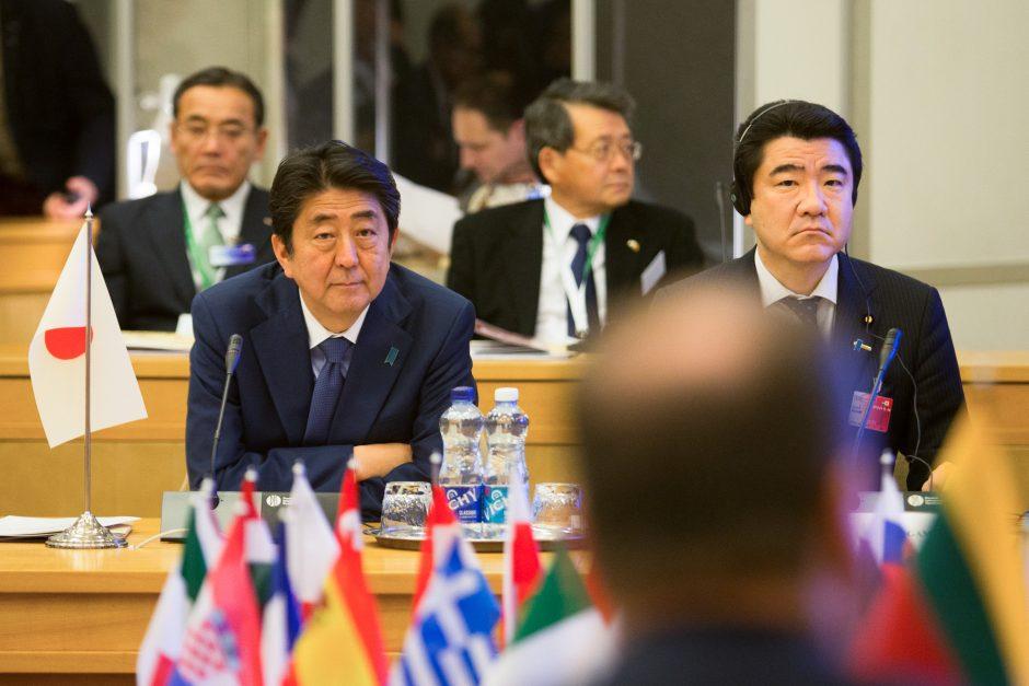 Lietuvos ir Japonijos premjerų susitikimas