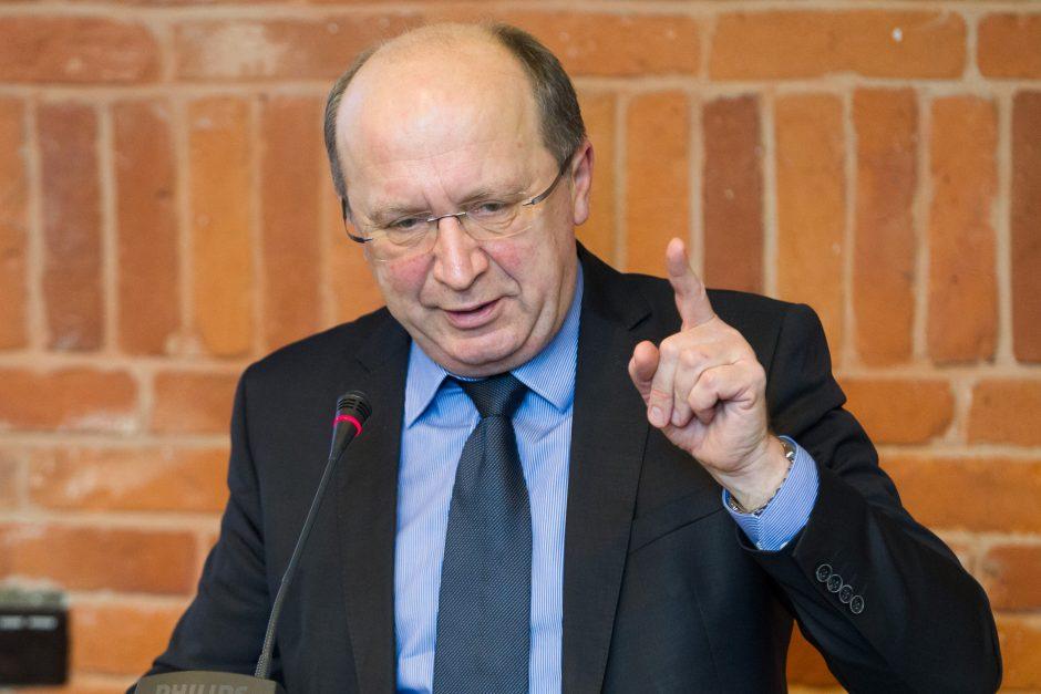 A. Kubilius pakvietė R. Karbauskį kartu išsitirti dėl ryšių su Rusija