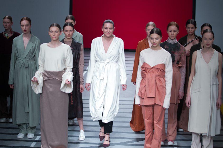 Pristatyta paskutinė dizainerio E. Sidaro kolekcija