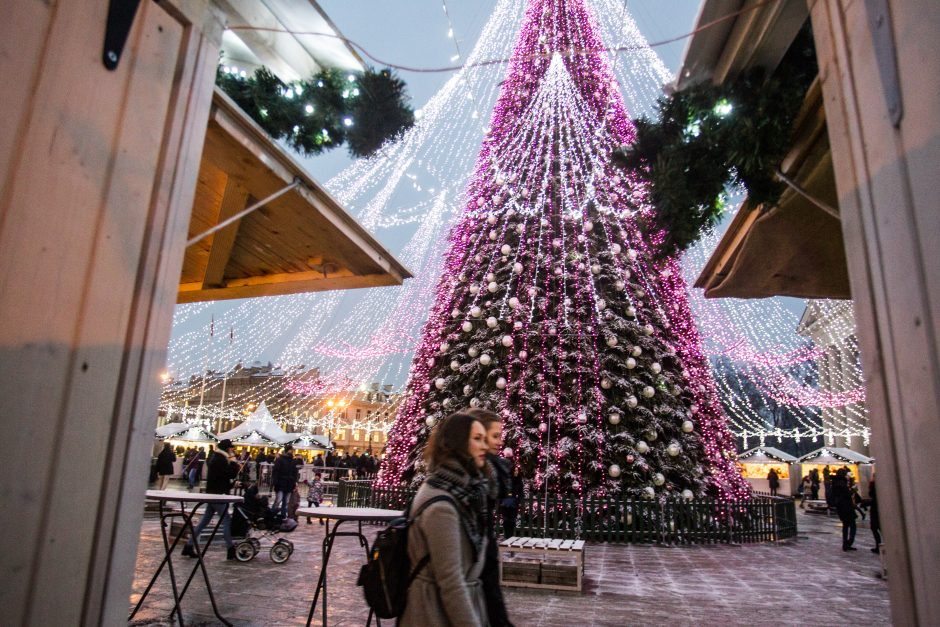Sostinės Kalėdų miestelis