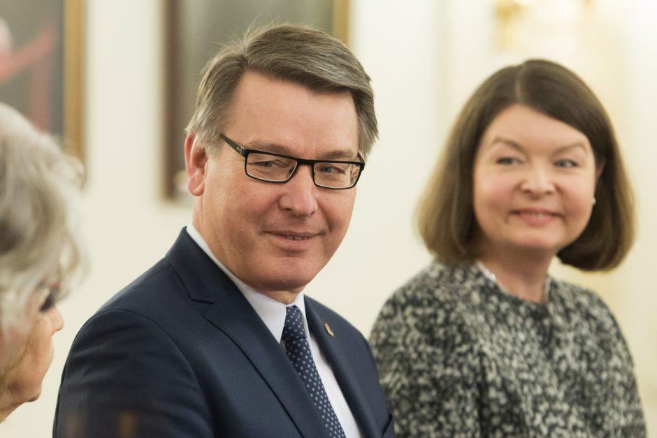 Prezidentė susitiko su ES ambasadoriais