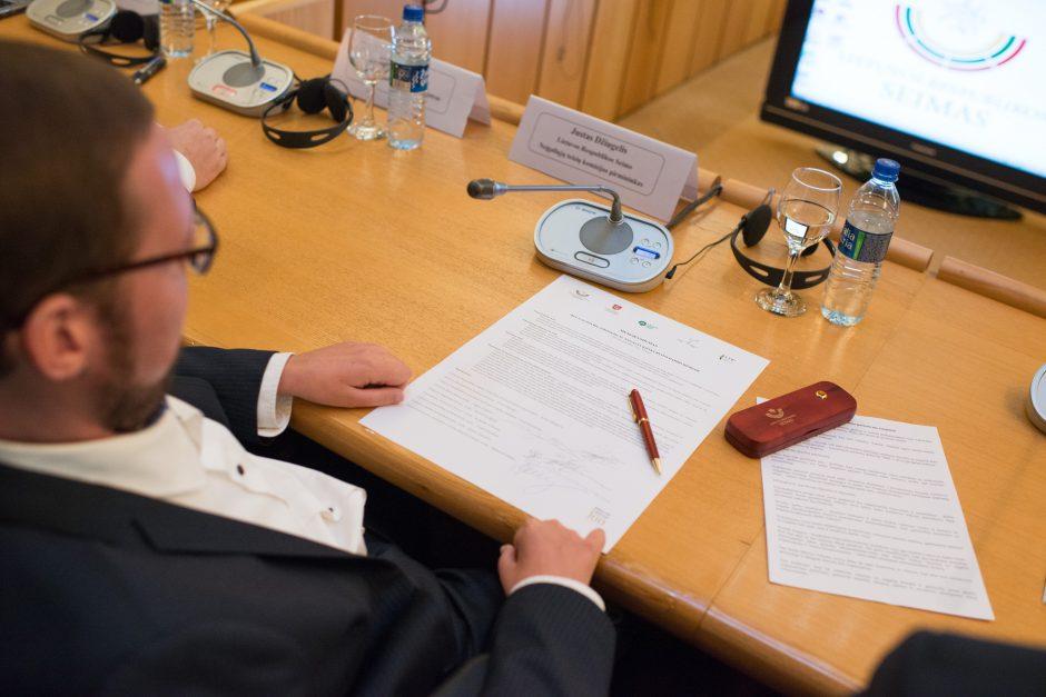 Pasirašytas memorandumas dėl neįgaliųjų įdarbinimo