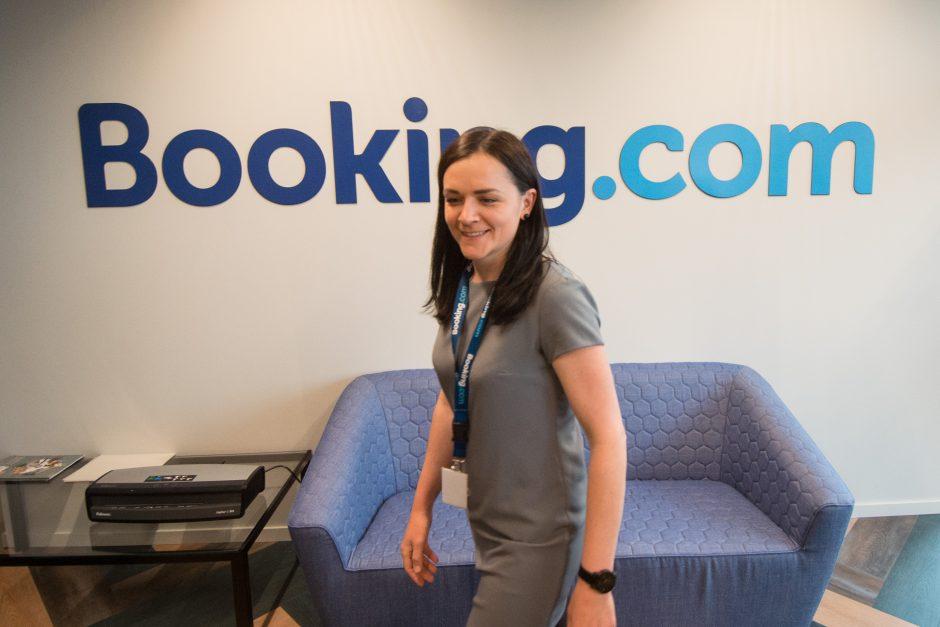 """""""Booking.com"""" atidarė biurą Vilniuje: priims 900 darbuotojų"""