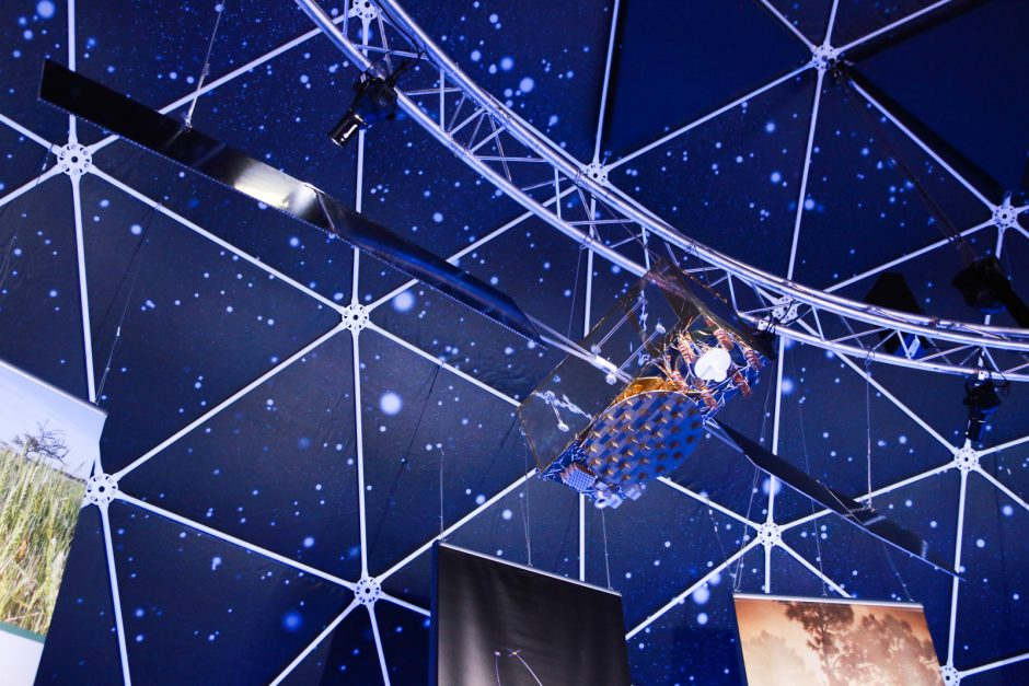 Vilniečiai ir miesto svečiai kviečiami susipažinti su kosmosu