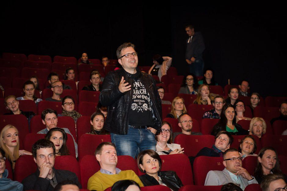 """Kauno žiūrovams pristatytas geriausias metų filmas """"Šventasis"""""""