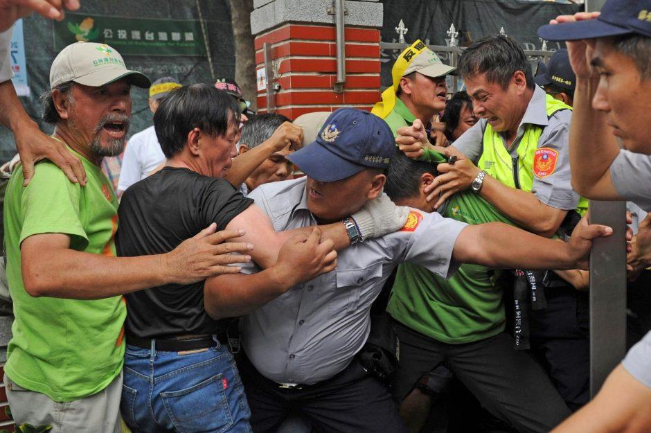 Taivano parlamentarai susirėmė dėl planuojamos atominės jėgainės