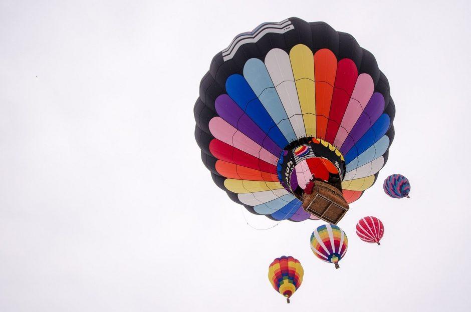 Tyrimas: trečdalio lietuvių svajonė – skrydis oro balionu