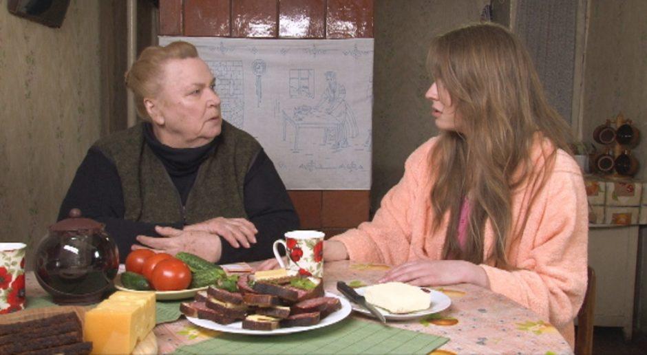 Filmuodamasi kaime aktorė M.Šablauskaitė jaučiasi kaip namuose