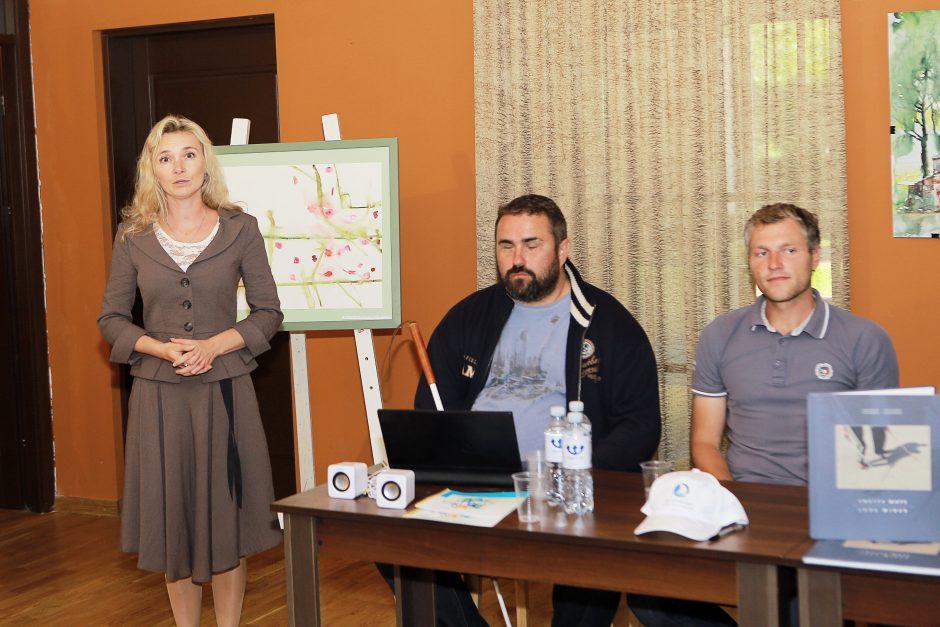 Neįgalieji iš Jekaterinburgo kviečia į nuotykius jūrose