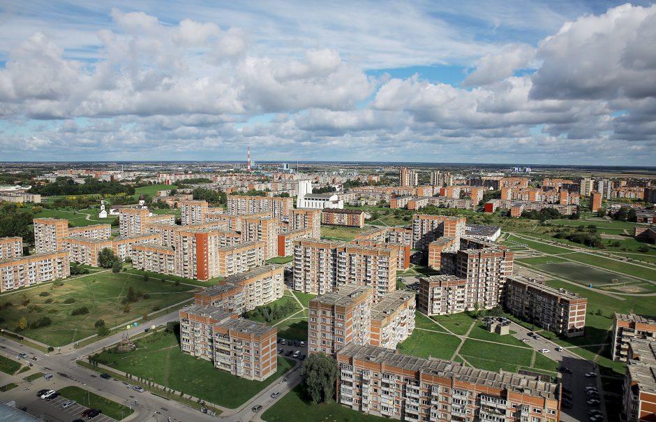 Klaipėdos daugiabučių kiemuose numatoma padvigubinti vietų automobiliams