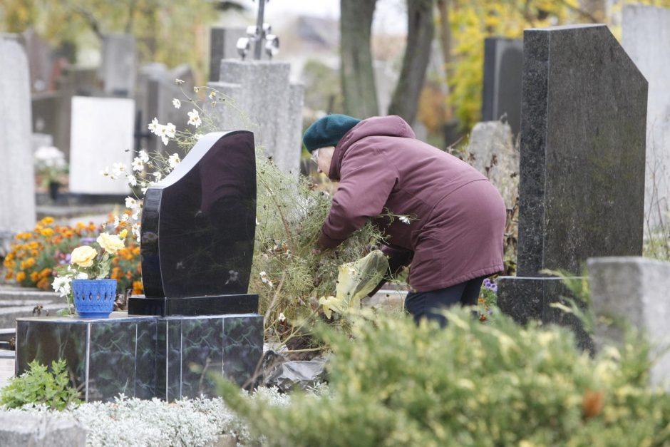 Uostamiesčio kapinėse – sujudimas