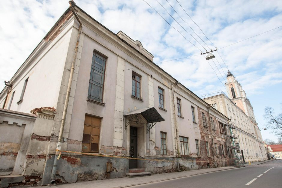 Kur Kauno kunigaikščių rūmams pažadėti pinigai?