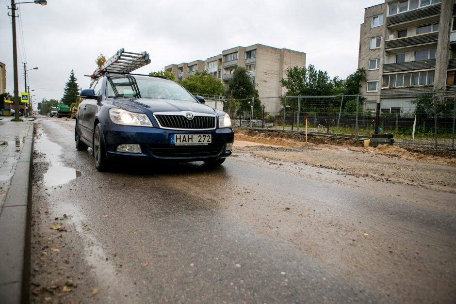 Kas apsunkina Prancūzų gatvės remontą?