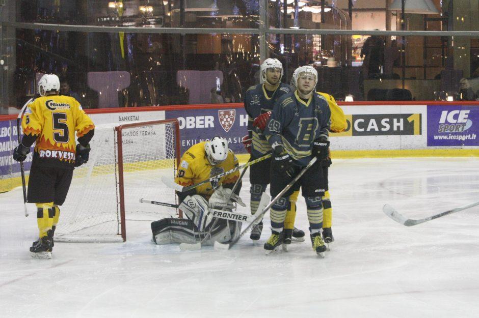 Klaipėdoje – lemiamas ledo ritulio čempionato ketvirtfinalio mūšis