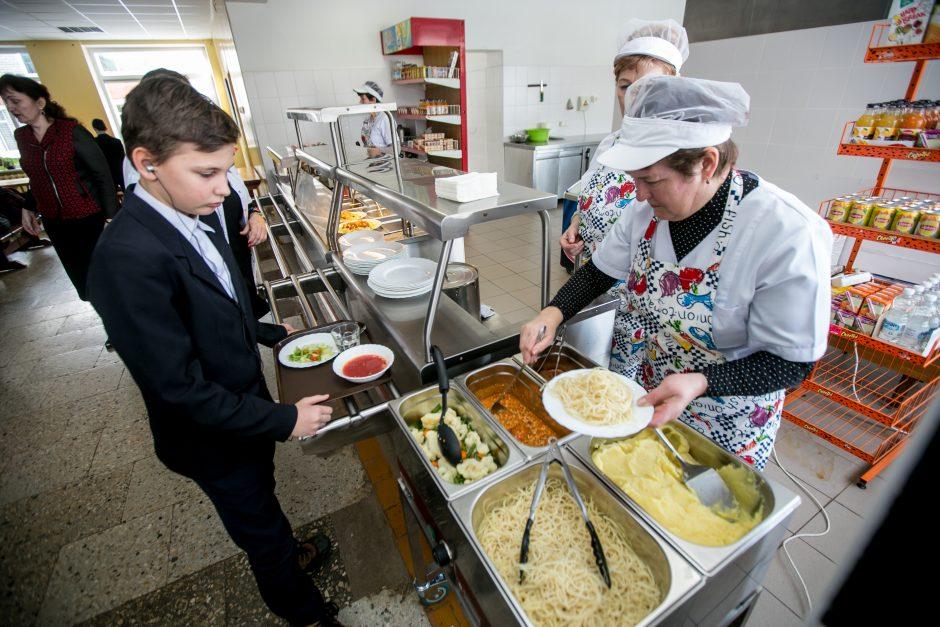 Išbandytas naujas maitinimo modelis Kauno rajono mokyklose: ar pasiteisino?