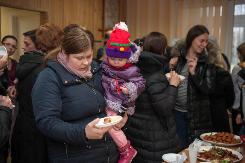 Pažangus valgiaraštis: iniciatyvos imasi tėvai