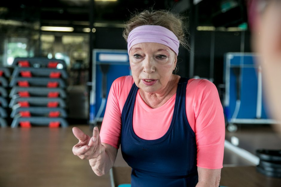 Trenerė A. Pašilytė: jaučiuosi geriau nei 35-erių