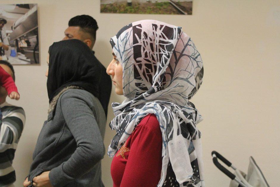 Velykinius margučius dabino ir pabėgėliai iš Sirijos