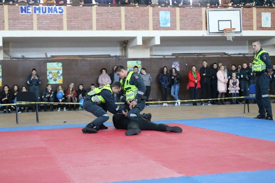 Lietuvos policijos mokykloje - atvirų durų diena