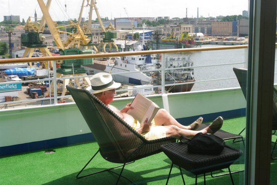 Iš kruizinių laivų – pilka Klaipėda