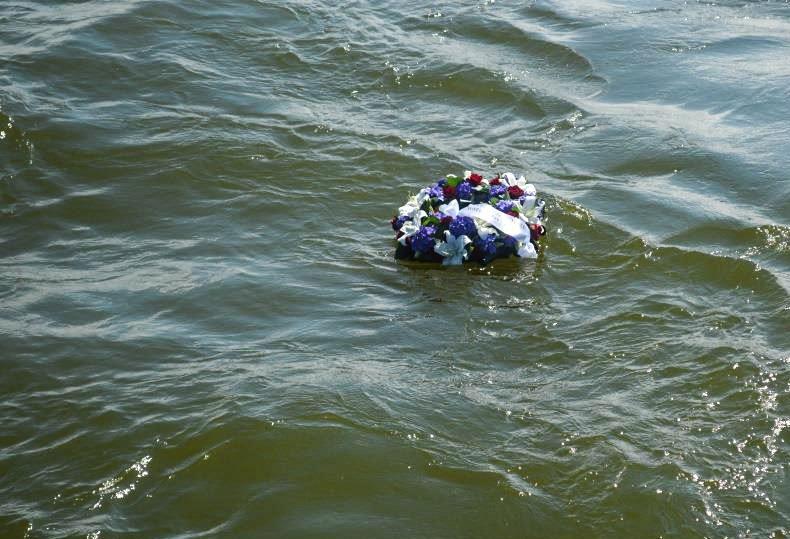 Jūros šventėje pagerbti žuvę jūrininkai