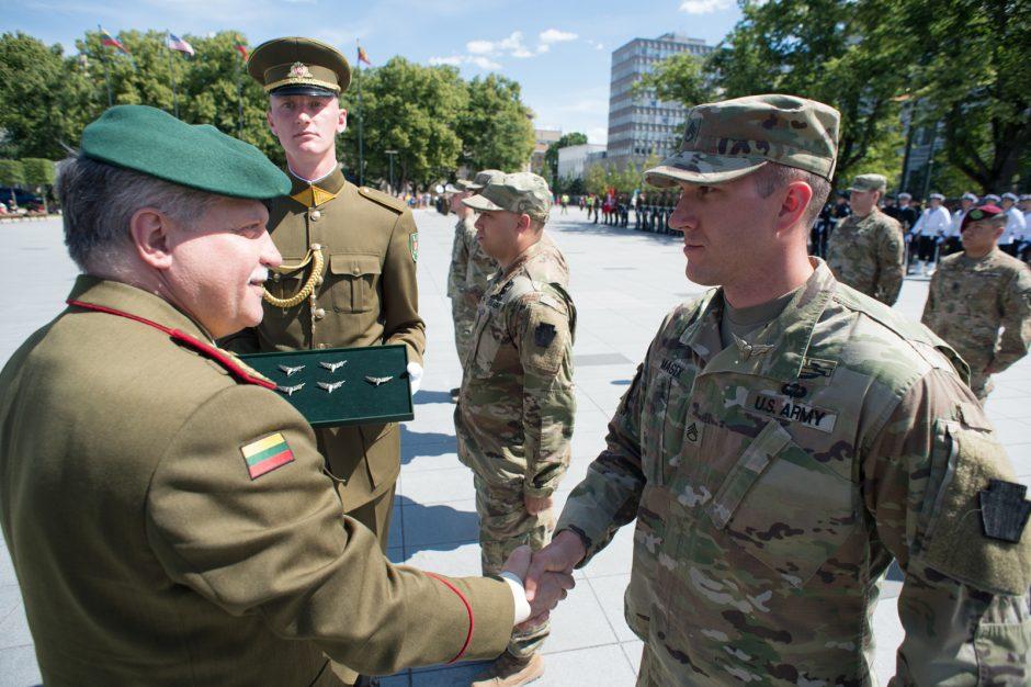 R. Karoblis: karių bendradarbiavimas yra puikus partnerystės su JAV pavyzdys