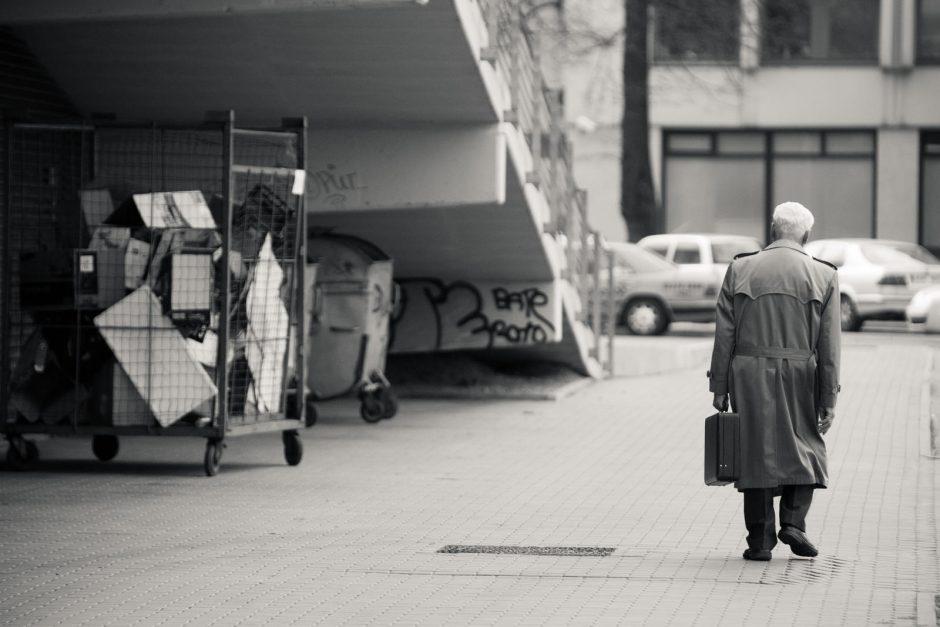 Apie smurtą prie senolį Klaipėdoje pranešta anonimiškai