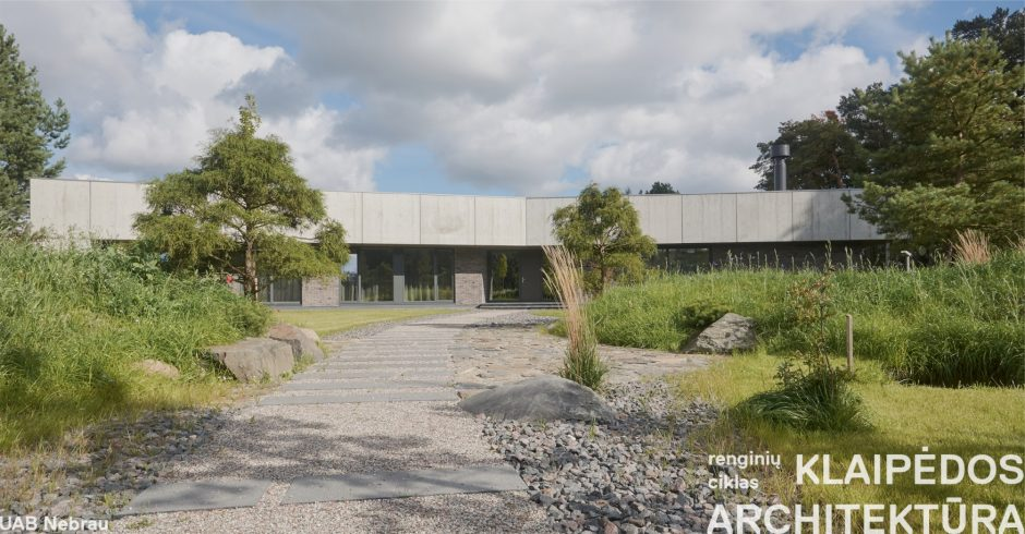 "Parodų rūmuose – ""Klaipėdos architektūra 2016"""